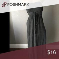 Grey maxi dress small Grey maxi dress small Dresses Maxi