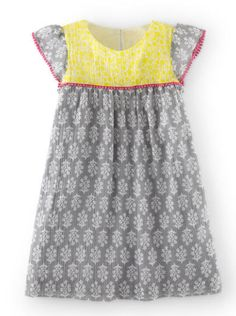 Boden dress inspiration. Can make with Citronille Rosamee pattern.