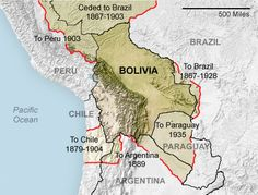 "How ""tin pot"" dictators and natural resource wars created bolivia's borders."