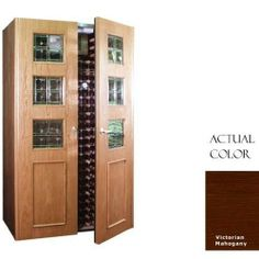 Vinotemp Vino-700empireb-ma Empire 440 Bottle Wine Cellar With Beveled Glass Design - Glass Doors / Mahogany Cabinet by Vinotemp. $7479.00. Vinotemp VINO-700EMPIREB-MA Empire 440 Bottle Wine Cellar With Beveled Glass Design - Glass Doors / Mahogany Cabinet. VINO-700EMPIREB-MA. Wine Cellars. Vinotemp Wine Cellars are all-in-one wine storage solutions hand-crafted with domestic woods in Southern California. They maintain an ideal environment for both short-term storage and...