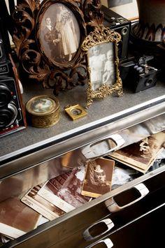 Display ancestor photos. Don't keep them hidden in a drawer!