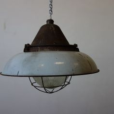 Grote scheepslamp + industrieel + retro en vintage design interieur 1