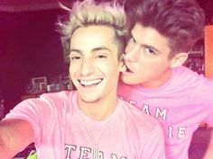 Zach rance and frankie grande