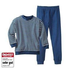 Pyjamas øko, blå
