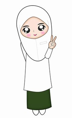 School Cartoon, Girl Cartoon, Design Kaos, Anime Muslim, Hijab Cartoon, Islam Facts, Paper Cake, Islamic Pictures, Drawing People