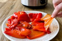 Slow Cooker Recipes For Warmer Weather (Don't Put Yours Away Yet!) Roasted red peppers