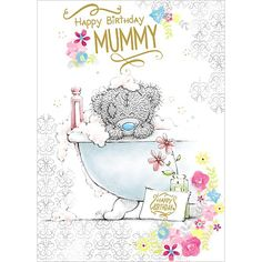 Happy Birthday Mummy Me to You Bear Card £1.79