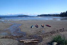 Sea kayaking the coast of Vancouver Island