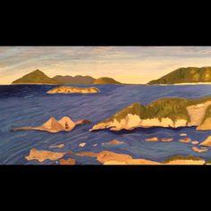 #acrylic #painting #art #keipassion #sikineisland #式根島