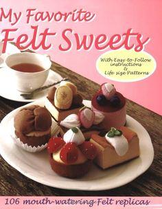 Se sei amante del cibo in feltro, allora è larticolo per voi. La vasta collezione di torte, biscotti e ciambelle sono solo tutto quello che volete