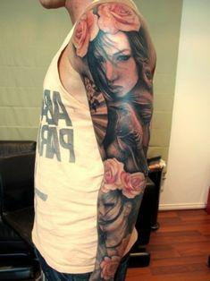 beste tattoos frauengesicht