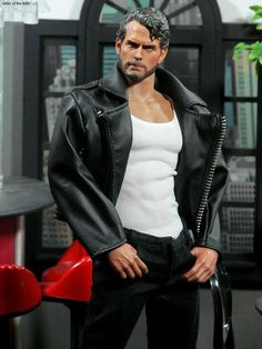 Henry Cavill Action Figure -Bearded Version