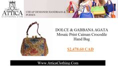 To most of the people spending exorbitant amounts of money on designer handbags and purses doesn't make much sense no matter how much they wish to have a designer purse, but with Attica Clothing's extensive collection sourced from across the world, obtaining cheap designer handbags in Canada at discounted and affordable rates has become a reality. With a wide-variety and types of designer handbags and purses from different brands available at discounted rates, shopping for designer handbags…