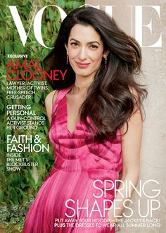 Photos: See Amal Clooney's Vogue Cover Photographed by Annie Leibovitz