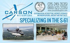 Carson Helicopters Magazine Ad by ads-DeSign