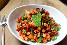 Happy Earth Day! If you are wondering what to make for dinner tonight, here is some inspiration. This eggplant and chickpea tagine is good for you and the planet. It is a flavourful Moroccan stew that can easily be made in a large skillet instead of a fancy cone-shaped tagine. No oil, no fuss. This Read More