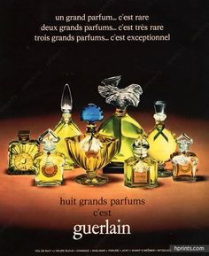 This section Guerlain contains 167 image files and original prints - Vintage Advertisement, Perfumes, Guerlain. Anuncio Perfume, Perfume Adverts, Parfum Guerlain, Christmas Adverts, Magazine Mode, Red Makeup, Vintage Perfume, French Vintage, Vintage Christmas