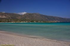 La plage d'Elafonissi - Crete - Grece