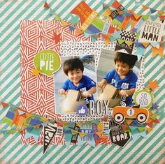 Old Scrapbook Kits Mini Albums Couple Scrapbook, Baby Girl Scrapbook, Kids Scrapbook, Mini Scrapbook Albums, Scrapbook Stickers, Scrapbooking Layouts, Scrapbook Pages, Mini Albums, Valentine Activities