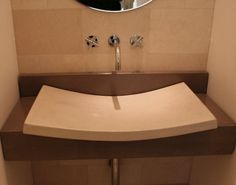 Concrete Bathroom Sink by Nick Relampagos