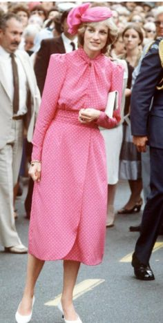 Princess Diana In A Conservative Catherine Walker Dress