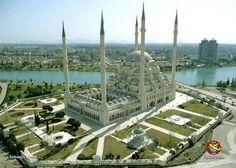 173 fotoğrafla gökyüzünden Türkiye - 87 (© Copyright c Gazeteport. 2007-2014, All Rights Reserved.) ADANA SABANCI CAMİİ