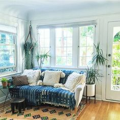 Natural light, fresh breezes, indigo textiles and plants. Sometimes it can be…