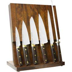 Kramer by Zwilling Carbon Steel Knife Block Set, 7 Piece Global Knife Set, Global Knives, Knife Block Set, Knife Sets, Japanese Cooking Knives, Tabletop, Electric Knife, Best Kitchen Knives, Knife Storage