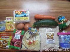 Fotorecept: Fitness koláč s banánovým tofu krémom Tofu, Pickles, Cucumber, Cocoa, Fitness, Theobroma Cacao, Pickle, Hot Chocolate, Zucchini