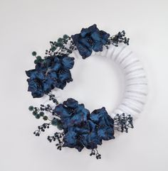 2020 CHRISTMAS COLLECTION, Extra Large Christmas wreath for front door, Christmas wall wreath, Navy blue Christmas wreath, Ready to ship Large Christmas Wreath, Christmas Wreaths For Front Door, Christmas Fireplace, Xmas Wreaths, Blue Christmas, Centerpiece Decorations, Christmas Centerpieces, Baby Shower Decorations, Christmas Decorations