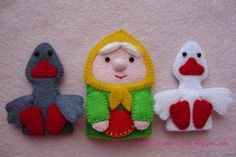 * Miracles from felt *: finger-a fairy tale