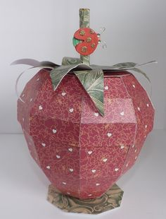 Strawberry box.  My scrap chick