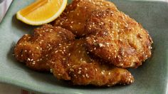Frank Camorra's crumbed buttermilk chicken. Marinate the chicken overnight for best results.