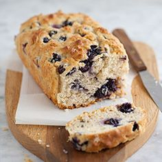 blueberry oatmeal quick bread