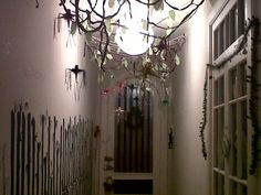 Navidad en la selva, reutilizando la decoración