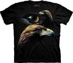 Collage del águila dorada. #2059