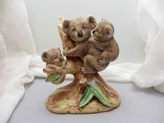 Down Under. Vintage ceramic koala figurine