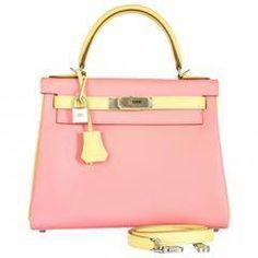 ee3f4b5fe6 Hermes Kelly Bag 28cm HSS Special Order Rose Confetti  amp  Jaune Poussin  BPH  Designerhandbags