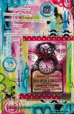 The Kathryn Wheel: My Art Journal