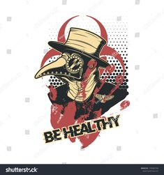 Polka Trash Tattoo Design Vector Illustration Plague Doctor Tattoo Trash, Trash Polka Tattoo, Plauge Doctor, Doctor Tattoo, Plague Doctor Mask, Design Vector, Trash Art, Creepy Art, Chernobyl