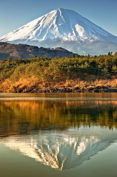 Fuji, Japan It is a natural landscape where we can enjoy its climate, plants, water and soil. It´s a known mountain from Japan, and hopefully it will still be untouched as it has until today Beautiful World, Beautiful Places, Beautiful Pictures, Monte Fuji Japon, Places To Travel, Places To See, Places Around The World, Around The Worlds, Mont Fuji