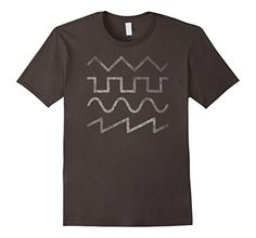 Mens Vintage Modular Synthesizer Shirt Small Asphalt Anal...