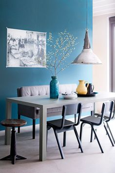 Do Blue - Ultimate Kitchen Luxury: Create The Living-Dining Table - Photos