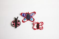 Handmade butterfly bijoux