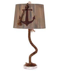 Look what I found on #zulily! Rope Anchor Table Lamp by Coast Lamp Mfg. #zulilyfinds