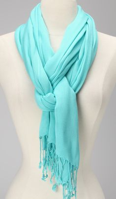 Turquoise Scarf | something special every day