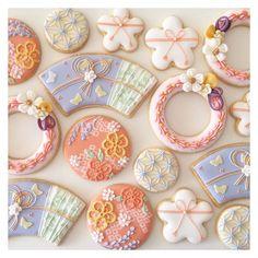 2月の青山教室は、春をイメージした和柄でした♡ ご参加有難うございました。 #customcookies #royalicing #icingcookies #sugarcookies #cookies #instacookies #edibleart #icedbiscuits #cbonbon #ひな祭り #和柄 #アイシングクッキー教室 #nhk文化センター #クッキー #アイシングクッキー
