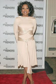 Television personality Oprah Winfrey poses backstage at the 5th Annual Directors Guild Of America Honors at the Waldorf Astoria Hotel September 29, 2004 in New York City.