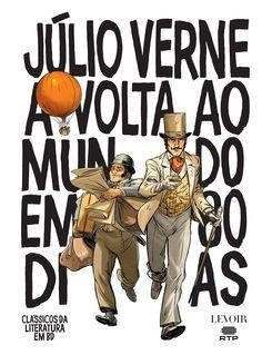 A Volta ao Mundo em 80 Dias de Júlio Verne. Lançamento banda desenhada por Levoir em português, setembro 2020... #bandadesenhada #voltaaomundoem80dias #bdcomicspt