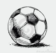 Colorful Soccer Ball Doodle Royalty Free Stock Photo - Image: 13965665